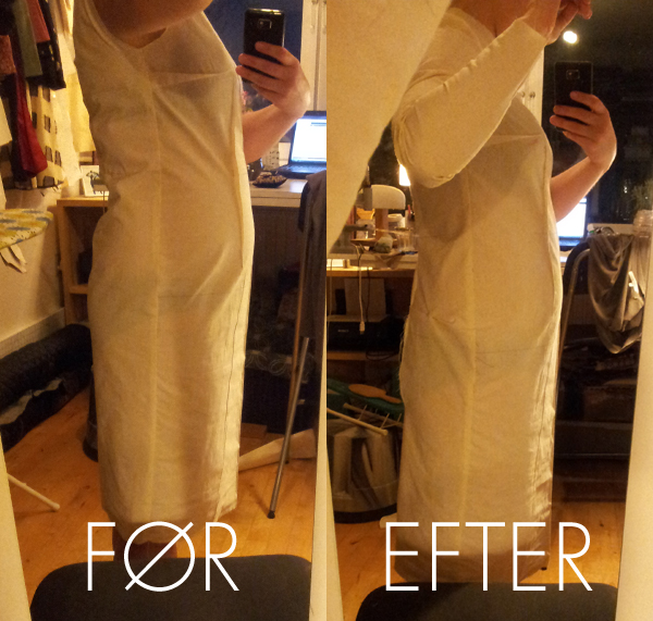 Basis kjolemønster jeg har tilrettet på  mig selv. Beklager lyset - det nåede at blive mørkt udenfor.