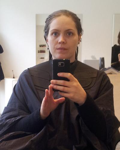 3. tur i frisørstolen på 16 år. I know, jeg er lidt mærkelig når det kommer til hår.