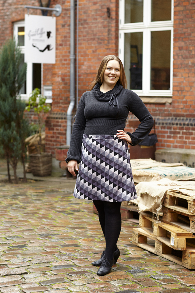 symønstre til nederdel - A facon